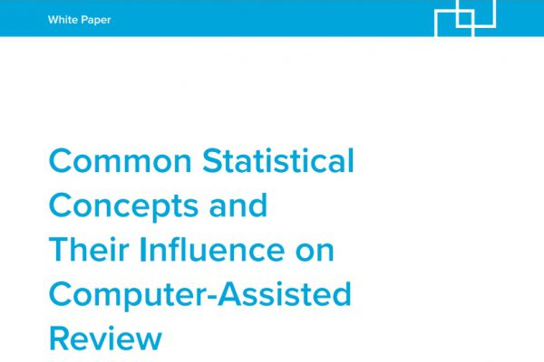 Common Statistical Concepts and Their Influence on Computer-Assisted Review